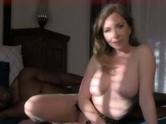 Hot MILF with black lover